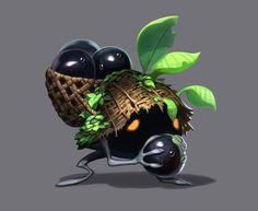 Eggripe Monster Art - Ark Sphere Art Gallery