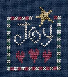 Garden Grumbles and Cross Stitch Fumbles: Christmas Joy