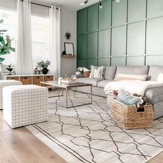 Machine Washable Rugs (@ruggable) • Instagram photos and videos Boho Living Room, Living Room Grey, Living Room Inspiration, Decoration, Family Room, New Homes, Interior Design, Furniture, Apartment Therapy