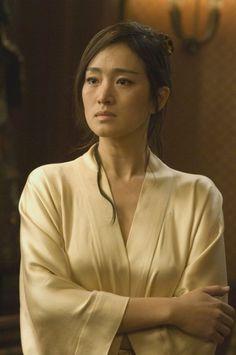 LI GONG in Memoirs of a Geisha. Malvada, odiosa, vengativa....muy buena actriz.