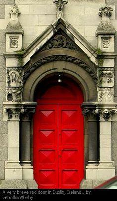 Red Door, Dublin, Ireland | Dublin ireland, Ireland and Doors