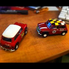 Scalextric mini's