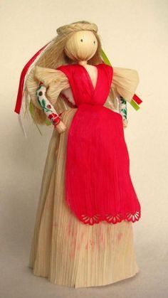 Prekrásne šúpolienky:) Autorka: Iwa. Ručné práce, diy, hand made, corn peel dolls, slovak traditional art. Artmama.sk.