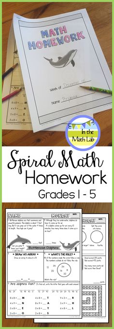Engaging homework sets for Grades 1 - 5. Give your students homework they'll actually want to do! Weekly themes and fun graphics keep kids motivated to solve interesting, real-life math problems. Comprehensive SPIRAL coverage of all CC Math Standards.