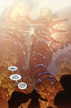Esad Ribic's distant future Galactus is G.O.A.T. material (from Thor: God of Thunder with Jason Aaron)