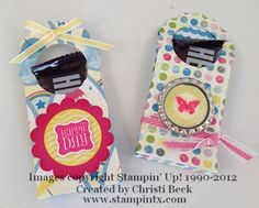 StampinTX: Stampin' Up! Two Tag Treats & Bookmark