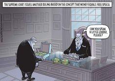 cartoon by Mike Thompson, Detroit Free Press (c) 2014
