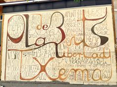 Catalan Words  #Catalan #Words #Letter #ExpressYourself #StreetArt #Street #Art #Barcelona #B4S #Bcn #Catalonia #Inspiration #FOS #FreedomOfSpeech #Artist #ElRaval