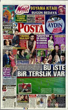 #20160501 #TürkiyeHABER #TURKEY #TurkeyTodayNEWSpapers20160501 Sunday MAY 01 2016 http://en.kiosko.net/tr/2016-05-01/ + http://www.trthaber.com/foto-galeri/gazete-mansetleri-01052016/10316/sayfa-3.html + #POSTA20160501 http://en.kiosko.net/tr/2016-05-01/np/posta_gazetesi.html