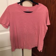 Karen Scott Pink Top Karen Scott pink top Karen Scott Tops Tees - Short Sleeve