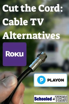 Cut the cord to your expensive TV cable subscription. In this guide I'll show you how to still watch (stream) and record (DVR) the shows your family cares about using a digital antenna, Roku's, and PlayOn. Roku Streaming Stick, Streaming Tv Shows, Netflix Streaming, Cable Internet, Internet Tv, Tv Hacks, Netflix Hacks, Tv Without Cable, Cable Tv Alternatives