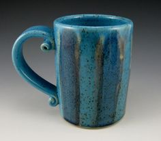 excellent handle Pottery Mug $22