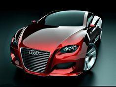 Red Audi Car wallpaper