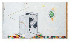 Parcour, Öl auf Leinwand, 140 x 250 cm, 2013