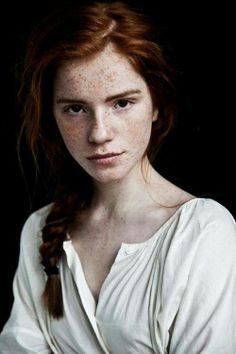 Luca Hollestelle red hair colour braid