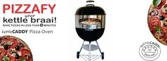 kettleCADDY Pizza Oven!! Pizzafy your kettle braai! #kettleCADDY #kettlebraai #Food #Pizza #pizzalover Portable Pizza Oven, Pizza Bake, Aloe Vera, Red Wine, Alcoholic Drinks, Baking, Food, Pizza, Bakken
