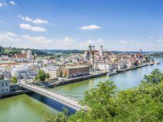 Najpiękniejsze miejsca nad Dunajem. Pasawa (Niemcy)