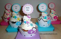 Hello Kitty Cupcakes #hellokittycupcakes