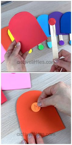 Color Activities For Toddlers, Preschool Colors, Preschool Learning Activities, Preschool Activities, H Preschool Crafts, Diy Educational Toys For Toddlers, Teaching Toddlers Colors, Art Games For Kids, Daycare Crafts