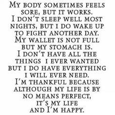 I'm happy despite crohns and ulcerative colitis