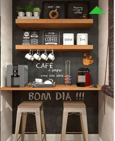 Awesome Home Coffee Stations Ideas Momooze - Looking for an Inspir . - Awesome Home Coffee Stations Ideas Momooze – Are you looking for inspiration to design your o - Coffee Bars In Kitchen, Coffee Bar Home, Home Coffee Stations, Office Coffee Station, Mini Cafeteria, Diy Kitchen, Kitchen Decor, Family Kitchen, Kitchen Small