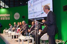 5ª Foro Europeo para la Ciencia, Tecnología e Innovación, celebrado en el Palacio de Ferias y Congresos de Málaga (FYCMA) del 10 al 11 de febrero de 2016 | #Transfiere2016 | www.forotransfiere.com
