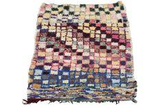Boucherouite Rug | Vinterior  #vintage #home #design #interiors #pastel #homedecor #textiles