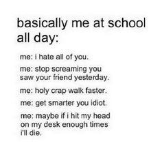Expesially on Mondays.