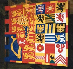 Queen Adelaide (banner inside St Paul's Pro-Cathedral, Valletta, Malta)