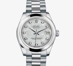 Rolex Datejust Lady 31 Watch: Platinum – M178246-0015