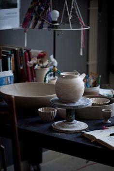 Creative Spaces : Anna Westerlund Atelier | Photography by Sanda Vuckovic