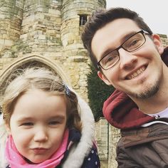 Forgot about this daddy daughter selfie at @LincolnCastle last weekend. #dadlife