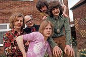 COLOSSEUM UK pop group in May 1970 with Dick Heckstall-Smith in glasses - Stock Image - B7KC5A