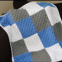 My first patch work blankie and I love it!