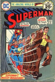 Superman #283. The Wolf of Wall Street!