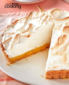 Lemon Meringue Tart #recipe