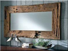 Tükörkeret antik deszkákból