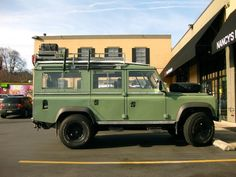 Old Parked Cars.: 1966 Land Rover Series IIa Station Wagon.