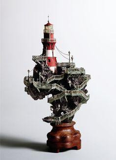 Sculpture by Takanori Aiba