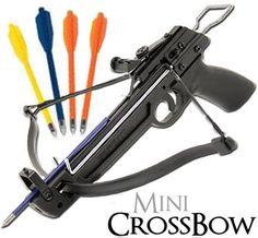 Hand Held Mini Crossbow Pistol Grip Gun Archery Hunting 50 lb. w/ 5 Arrows bonanza.com (better than ebay)