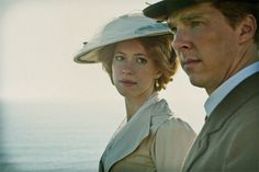 That's how we all look at him, isn't it? benedict cumberbatch, parade's end