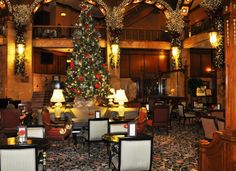 The Brown Palace at Christmas - Google Search
