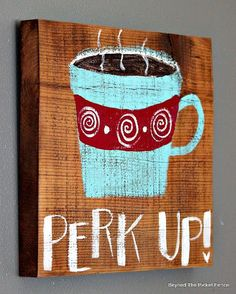 12 Days of Christmas Coffee Signs http://bec4-beyondthepicketfence.blogspot.com/2014/11/12-days-of-christmas-day-4-coffee-lover.html #coffeesigns