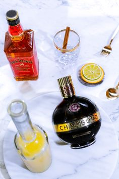 The Chambord Spiced Berry Punch lights up the mademoiselles brunch. To sip sip on the cocktail with extra bite, scoop up the below ingredients. 6 oz Chambord Liqueur 6 oz Jack Daniel's Tennesse Fire 6 oz Orange Juice 2 oz Lemon Juice 12 oz Ginger Beer Make over ice in punch bowl and stir. Garnish with orange slices and a cinnamon stick. Serve in a lowball glass. Lights up 6-8 happy mouths.