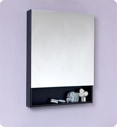 Simple and minimal. Fresca Espresso Bathroom medicine cabinet gives you exactly that.