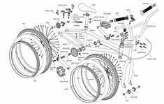 BMX Frames and Parts Guide   View: http://bmxunion.com/bmx-bikes-frames-parts/  #BMX #bike #bicycle #parts #frame #guide
