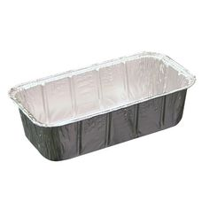 2 Lb. Aluminum Loaf Pan Full Curl Rims - 300/Case Aluminum Pans, Bakery Supplies, Loaf Pan, Plastic Containers, Outdoor Furniture, Outdoor Decor, Storage, Home Decor, Products