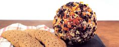 Autumnal Cheese Ball | An appetizer that combines 2 of our favorite things: fall flavors and cheese!