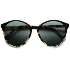 Oversized Round Acetate Sunglasses by Stella McCartney