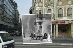 "1956 and 2011 | 25 Extraordinary Photos That Create A ""Window To The Past"""